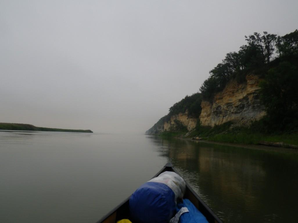 Yep, it's the lake..I think..kinda foggy