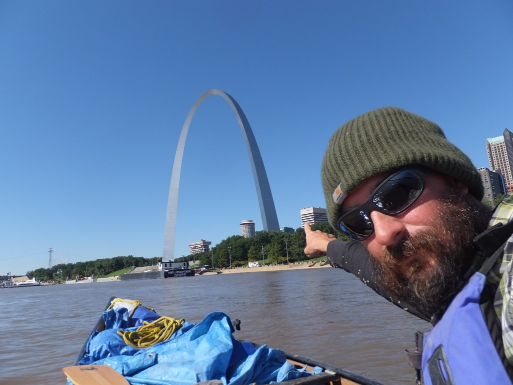 There it is!!! The Arch.