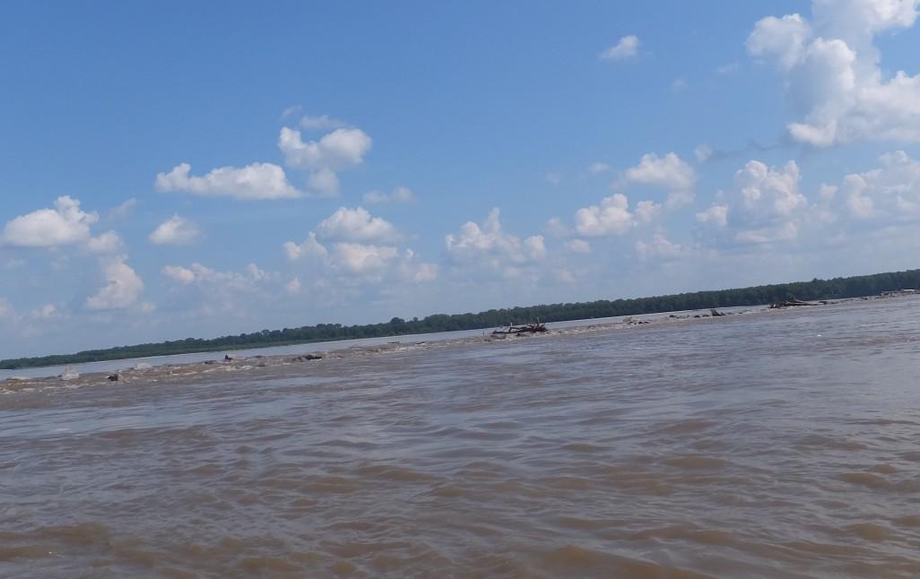 It's a big river.
