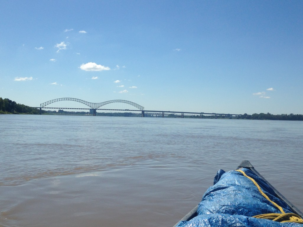 the I-40 bridge