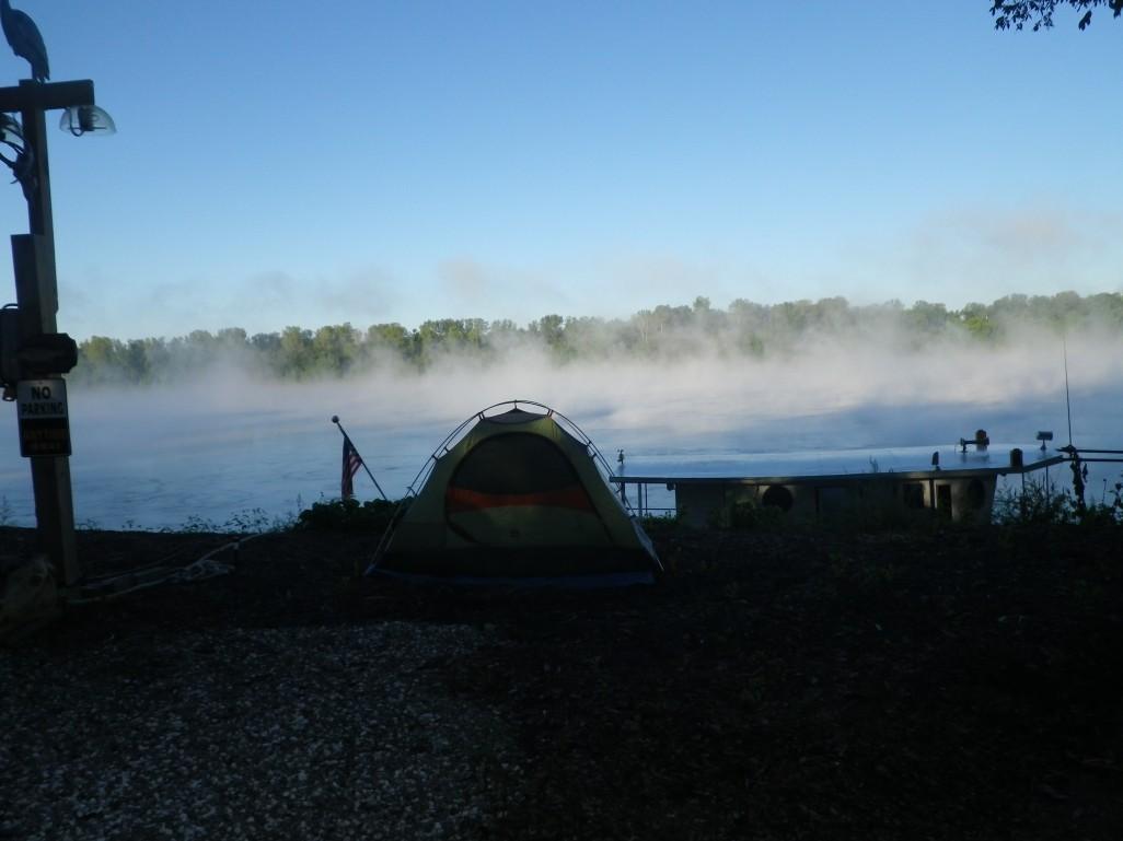 fog lifting