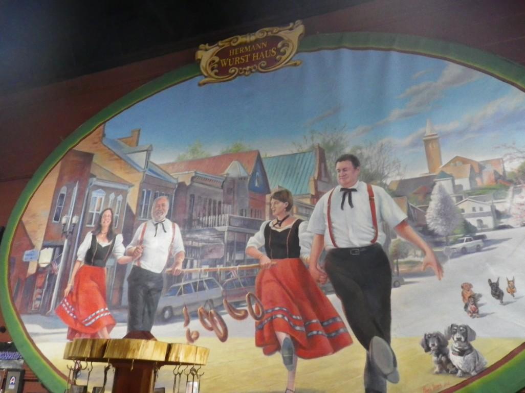 Wurst Haus mural