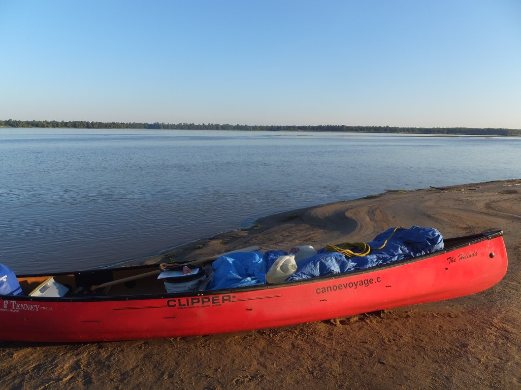 The canoe.