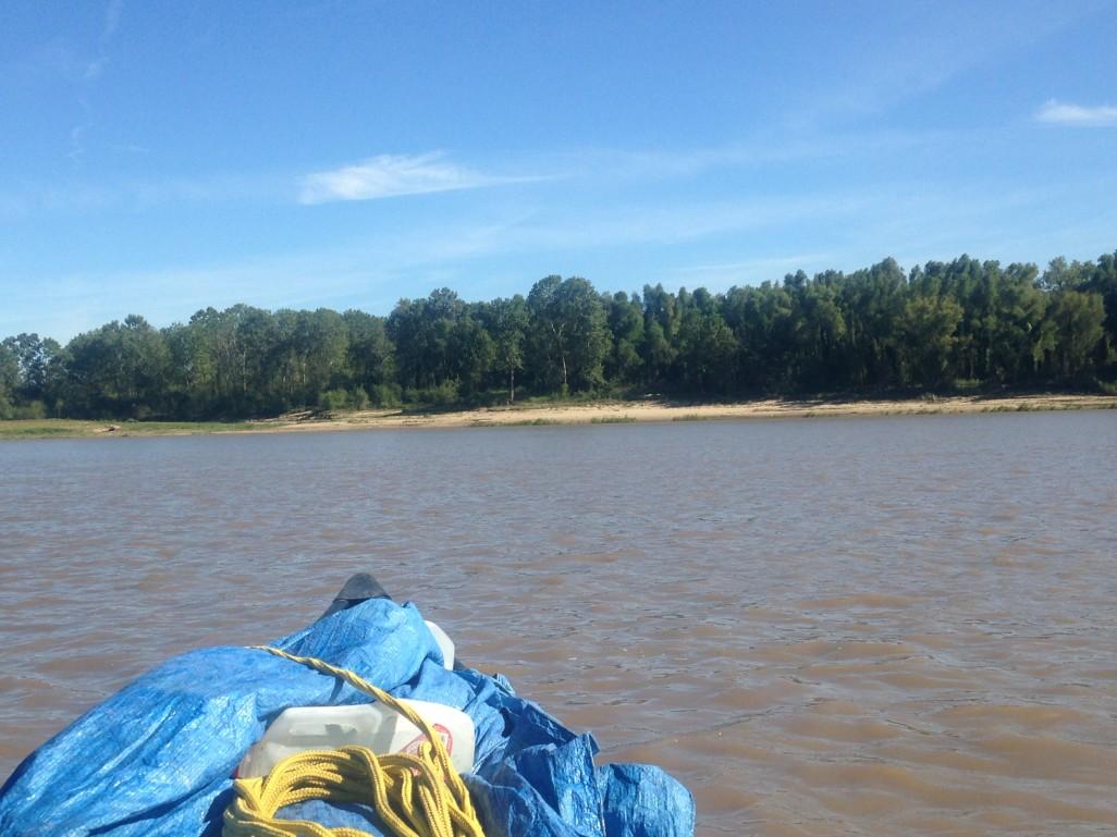 heading to shore
