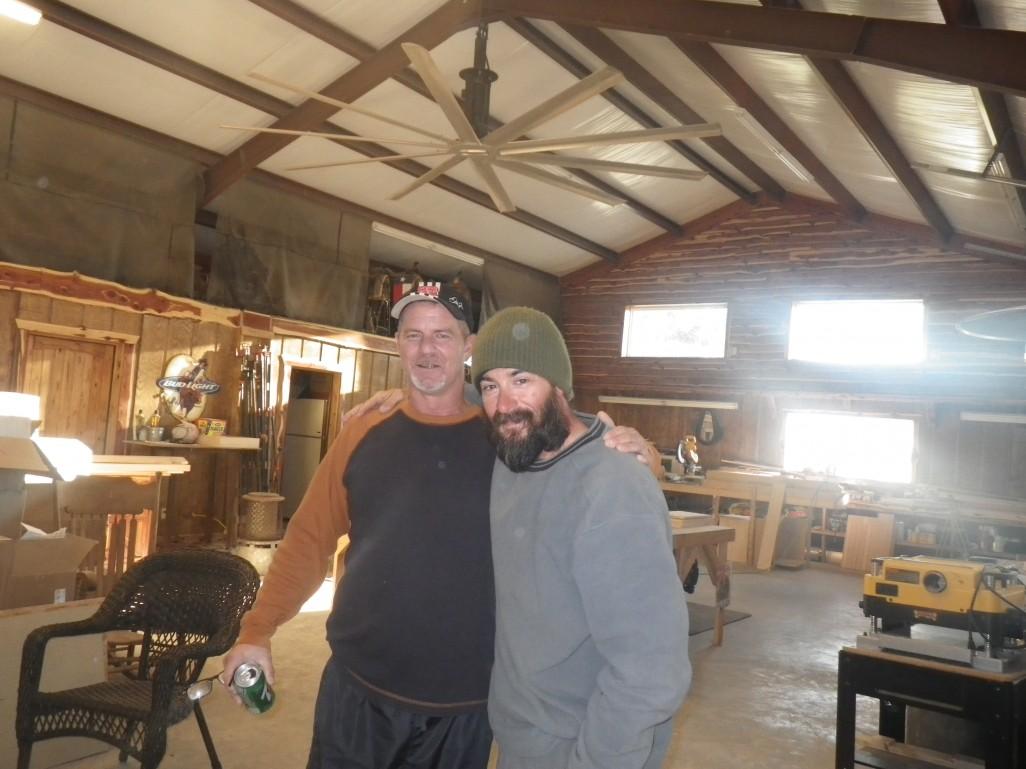 John and I at Mayfield's